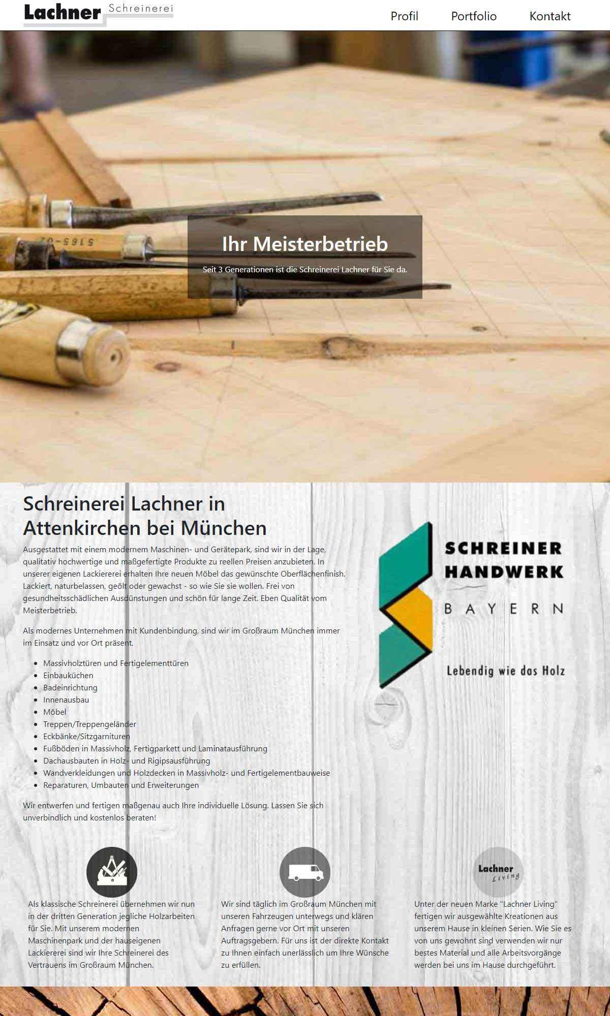 Lachner Schreinerei Screenshot 2018-04